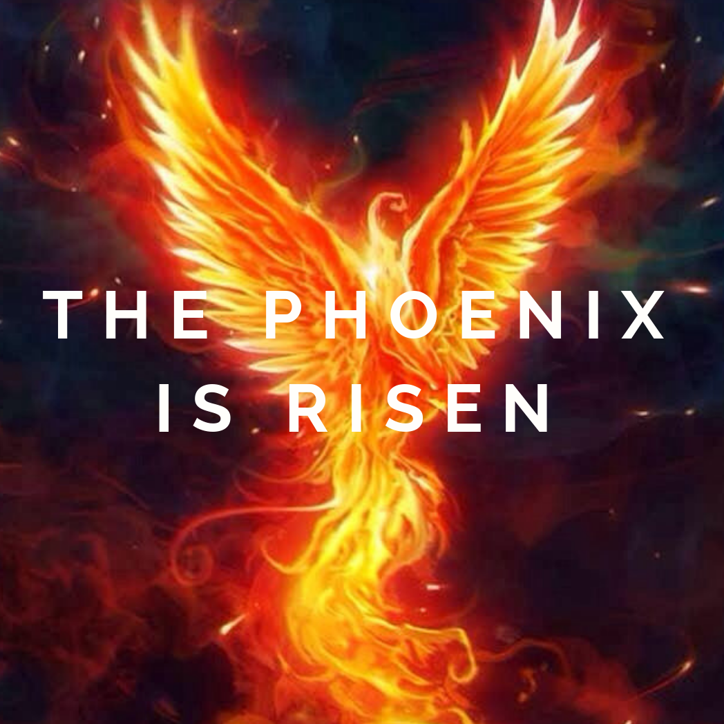 Standing In The Ashes Of The Girl I Once Was…Risen Like A Phoenix!