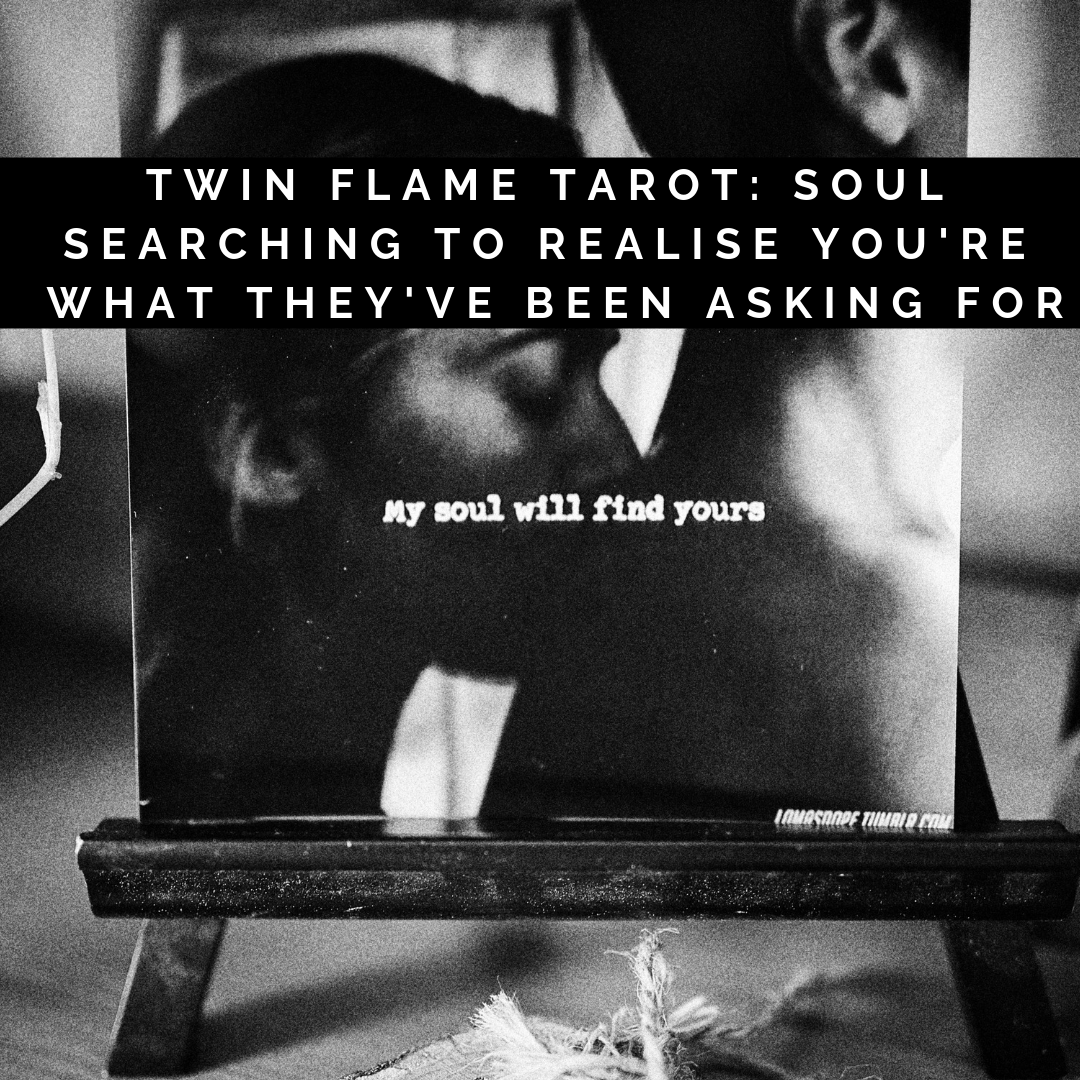Twin Flame Tarot: Soul Searching To Realise You're What They've Been Asking For – YouTube
