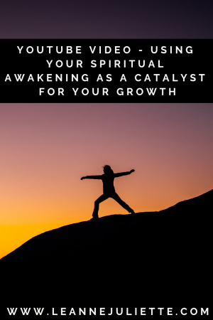 Using your spiritual awakening to grow