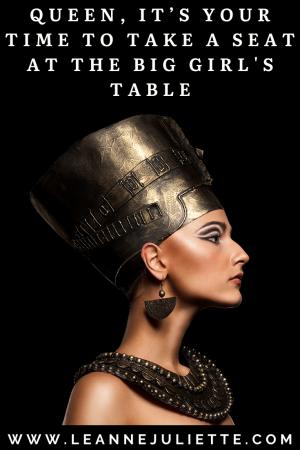 Queen Nefertiti representing female power